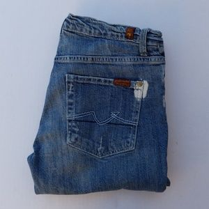 Women's 7 For All Mankind Jeans sz 28 Bootcut